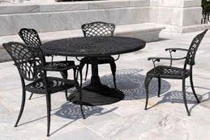 Cast Iron Table Set