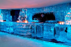 Extravagant Ice Bar