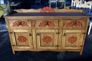 Southwest Style Cabinet