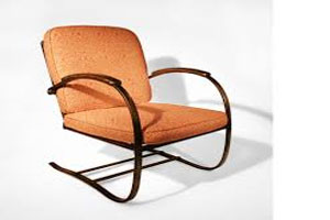 Curved Outdoor Chair