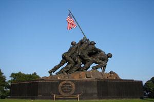 Memorial Day Statue