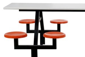 Connected Table Seating