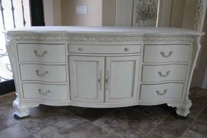 Faux Antique Dresser