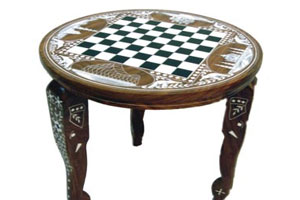 Historical Chess Table