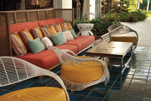 Non-matching Outdoor Furniture