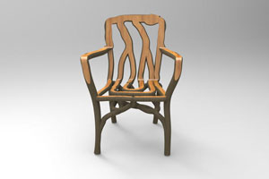 Molded Tree Chair