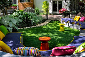 Brightly Colored Outdoor Furniture