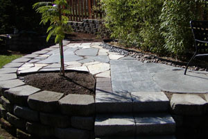 Recycled Outdoor Patio